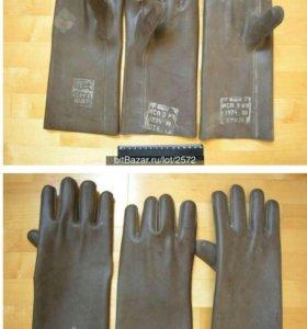 Перчатки резиновые электромонтажные