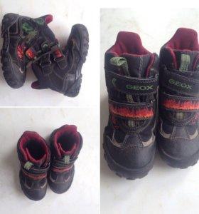 Зимние ботинки геокс Geox размер 27