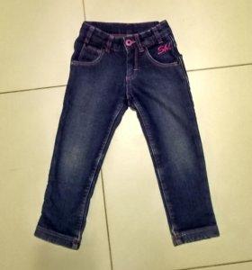 Утеплённые джинсы Шалуны