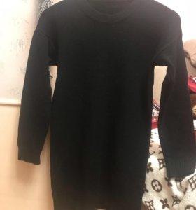 Платье-туника-свитер