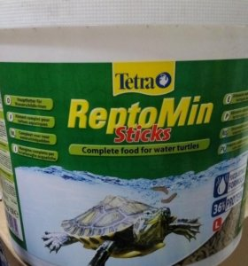 Корм для всех видов водных черепах