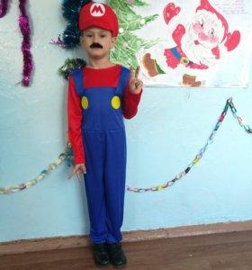 Новогодний костюм Марио