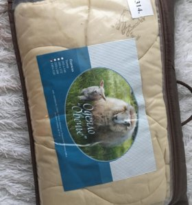 Одеяло овечье 140х110