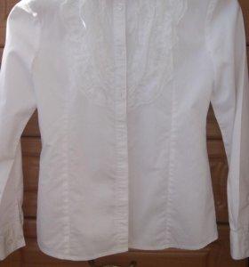 Блузки для девочки, школьные