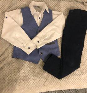 Костюм (рубашка, брюки, жилет)