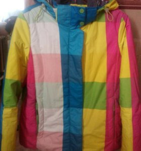 Куртка горнолыжная женская