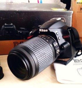 Nikon d3200+обьектив nikkor 50-200mm f4-5.6g