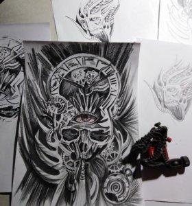 Татуировка художественная