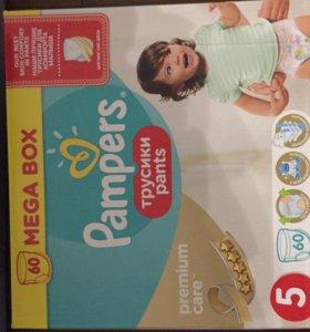 Подгузники-трусики Pampers premium-care 5
