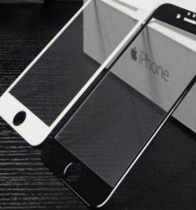 5D защитное стекло на iPhone 📱