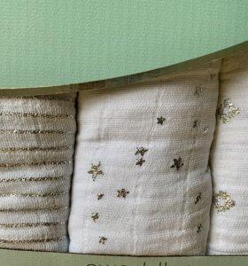 Набор Одеяло в кроватку и 3 пеленки Aden Anais