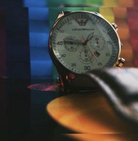 Часы Emporio Armani stainless steel back 5095L