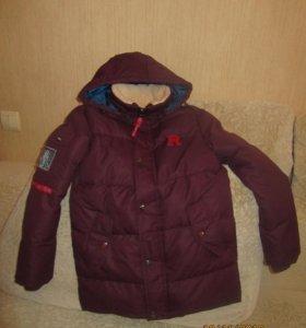 """Зимняя куртка """"Pelikan"""",ботинки, штаны"""