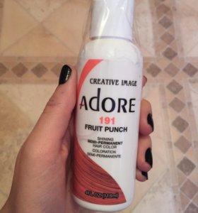 Краска для волос Adore розовая
