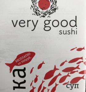 Very good sushi