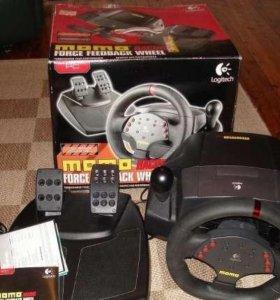Logitech Momo Racing Wheel с обратной связью