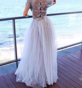 Стильное эксклюзивное платье