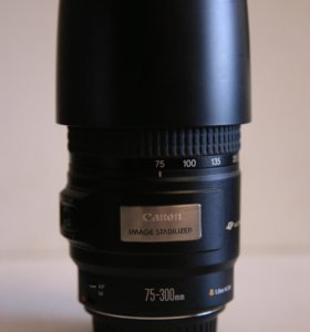 Canon 75-300 mm со стабилизатором
