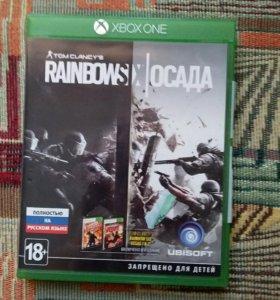 Игра для Xbox one Rainbow six siege
