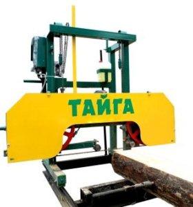 Ленточная пилорама ТАЙГА Т-2