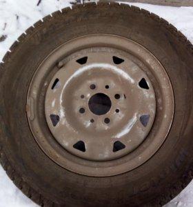 Комплект зимних шин с дисками