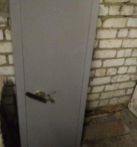 Сейф шкаф 140х40х50