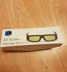 Очки 3d active shutter glasses