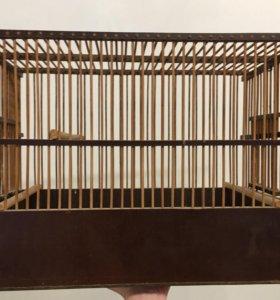 Деревянная клетка для животных 45х35х25