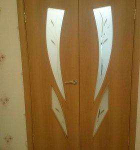 Двери межкомнатные блочные б/у