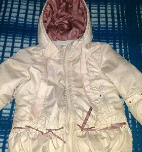 Куртка зимняя и костюм весна-осень