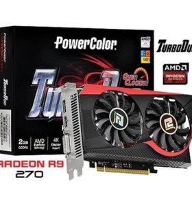 Игровая видеокарта Radeon R9 270