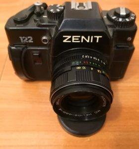 фотоаппарат Зенит-122 Объектив Helios 44м-4