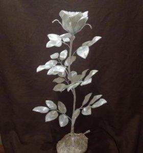 Роза-Светильник богема