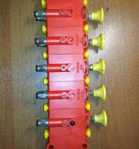 Блок управленния пневматический донными клапанами