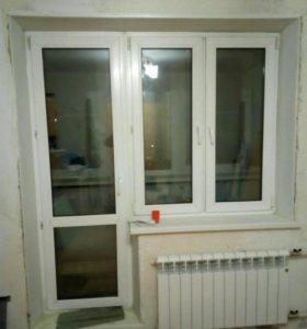 Пластиковые окна б.у