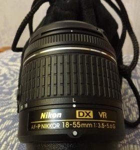AF-P NIKKOR 18-55mm 1:3.5-5.6G DX VR