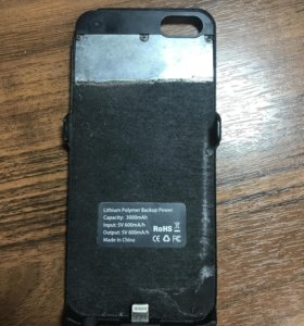 Чехол-зарядник на iPhone 5/5s