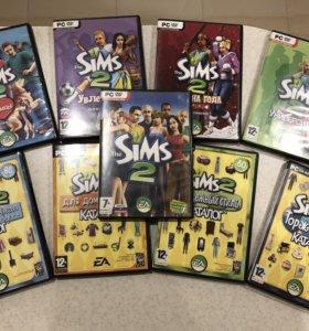 The Sims 2. Коллекция дисков