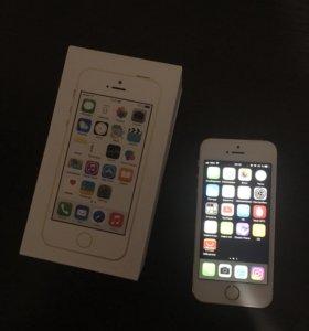 Новый iPhone 5S 16 GB Gold