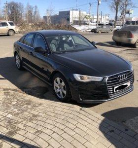 Аренда авто под бизнес такси Audi A6