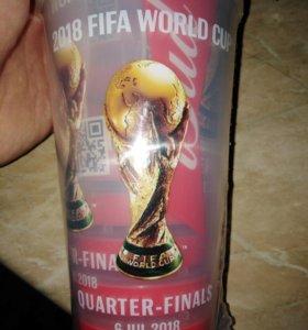 Майка и стакан чемпионата мира по футболу 2018