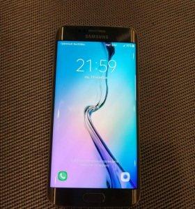 Samsung Galaxy S6 edge 128gb Gold + gear s
