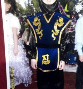 Новогодний костюм ниндзи