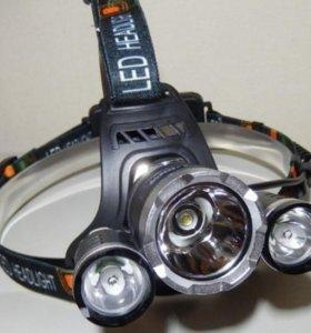 Надежный фонарь налобный светодиодный