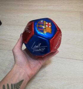 Мини футбольный мяч из Барселоны