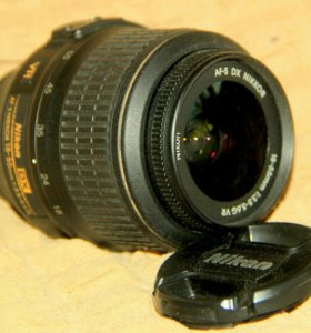 Объектив Nikon af-s Nikkor 18-55mm 1:3,5-5,6G