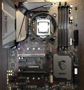 Gtx 1060 msi armor + Core i7700 + z 270 msi