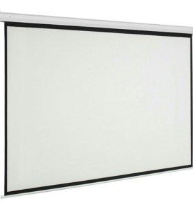 Экран для проектора (новый в упаковке) 215×215 см