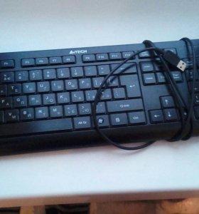 Клавиатура с подцветкой (цвет синий)