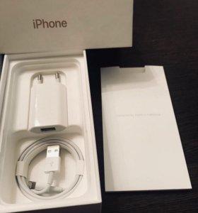 Комплект от iPhone Кабель Lightning + USB Адаптер